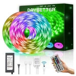 DAYBETTER Waterproof 600 LEDs Strip Lights