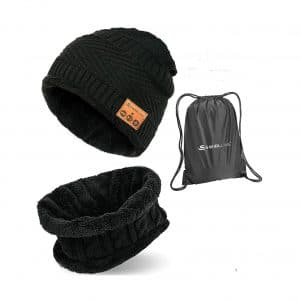 S SWIRLLINE Bluetooth Beanie Wireless Hat