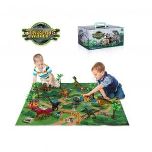 TEMI Dinosaur Toy Playset