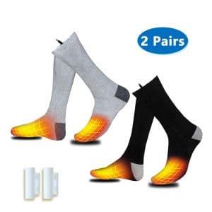Valleywind Heated Socks 2 Pairs