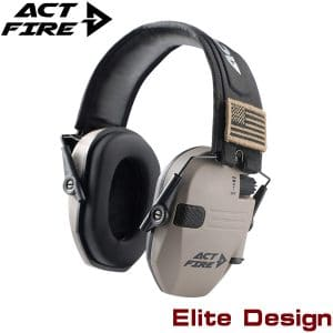 ACTFIRE 23dB Noise Reduction Earmuff for Shooting