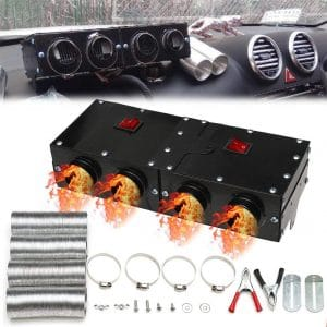 MASO 12V 800W Car Heater Kit High Power 5 Second Fast Heating Defrost for Automobile Windscreen Winter