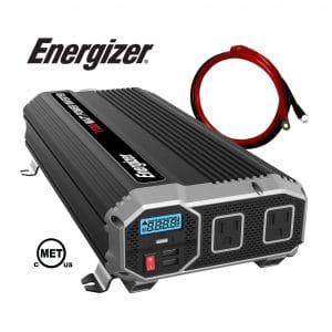 Energizer 1100W 12V Portable Inverter for Car