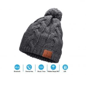 Neraon Bluetooth 5.0 Wireless Beanie Hat