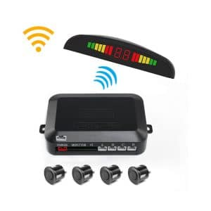 Uworld Wireless Car Reverse Radar System with 4 Sensors