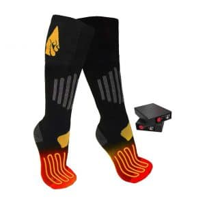 ActionHeat 3.7V Rechargeable Heated Socks