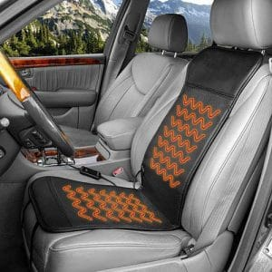 HEALTHMATE Deluxe 12V Heated Car Seat