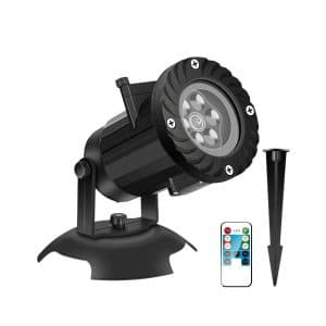 KABCON Christmas Projector Lights with Remote and Timer