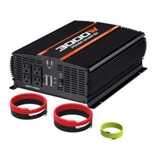 POTEK 3000W Power Inverter for Car