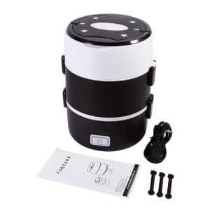 Yosoo 3-Tier Electric Lunch Box