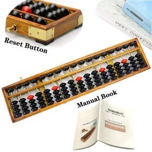 hexing Vintage Style Wooden Abacus