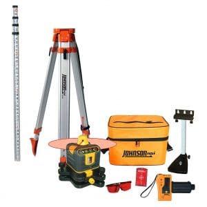 Johnson Level & Tool Manual-Leveling Laser System