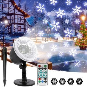 OwnZone Christmas Projector Lights for Xmas Party