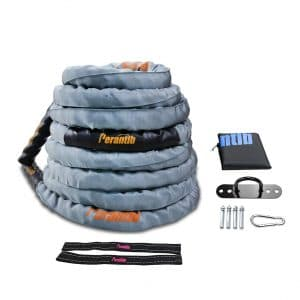 Perantlb 100% Poly Dacron Grey Workout Rope