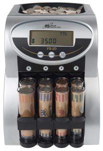 Royal Sovereign 2 Row Electric Coin Counter
