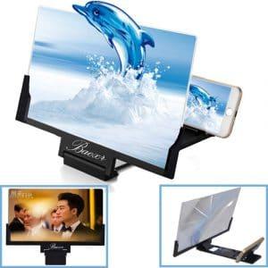 Baoxr 3D 12-inch Screen Magnifier for All Smartphones