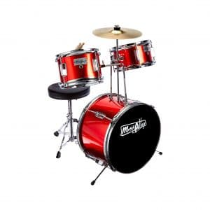 Music Alley 3-Piece Beginners Drum Set