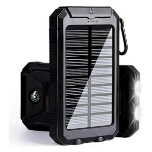 Solarprous 30000mAh Solar Power Bank