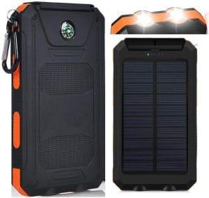 Amazing Solutions Waterproof 20000mAh Solar Power Bank