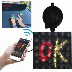 Yukuai Bluetooth LED Emoji Car Display