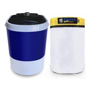 BUBBLEBAGDUDE 5 Gallons Mini Washer Machine