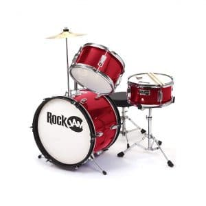 RockJam 3-Piece Junior Drum Set