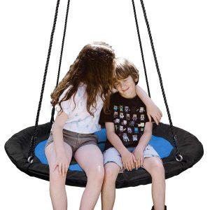 SUPER DEAL Waterproof Saucer Tree Swing