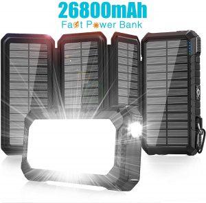 XZL Solar Charger 26800mAh-Power Bank