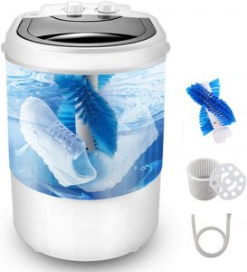 CUTIESKY Portable Washer and Spin Dryer 11lbs Capacity