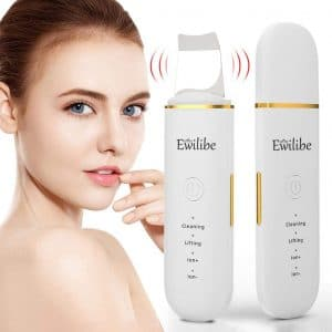 Ewilibe Skin Scrubber Face Spatula and Pores Cleanser