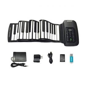 ANDSF Roll Up Portable 88 Key Keyboard Piano