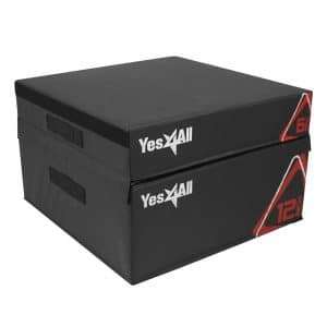 Yes4All Adjustable Soft Plyometric Box