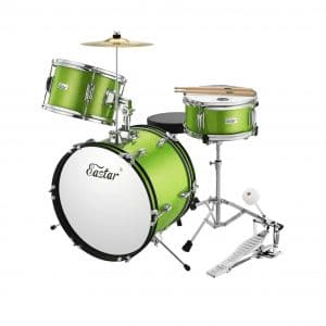 Eastar 16 Inches 3 Pieces Kids Drum Set