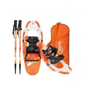 Gpeng 3-In-1 Lightweight Aluminum Terrain Snowshoes