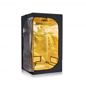 Hongruilite 600D High Reflective Mylar Hydroponic Grow Tent