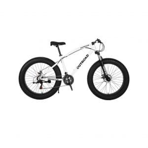 Max4out Fat Tire 21-Speed Mountain Bike