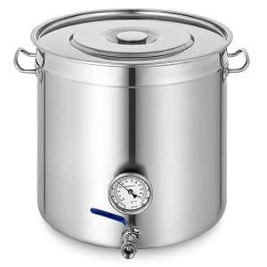 Mophorn 12.5gal home brew kettle stockpot