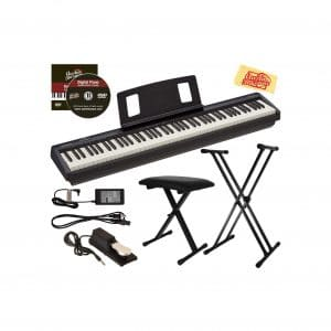 Roland Digital Piano Bundle with Adjustable Stand