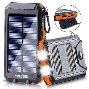 YOESOID Solar Power Bank