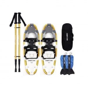 Carryown 4-In-1 Xtreme Lightweight Aluminum Alloy Snowshoes