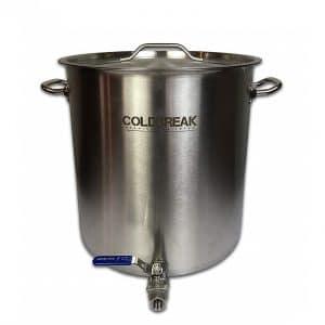 Coldbreak 40 quart brew kettle