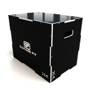 Garage Fit Wood Plyo Box for Jumps