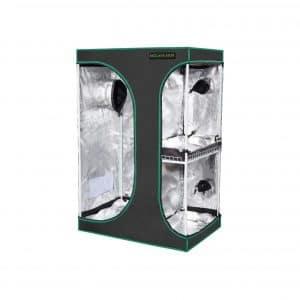 MELONFARM 2 In 1 Reflective 600D Mylar Grow Tent