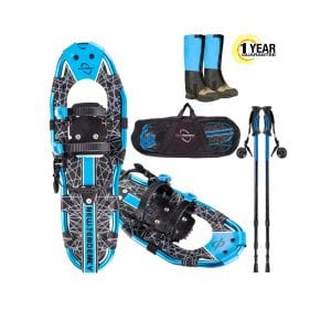NEWTENDENCY 25 to 30-Inches Terrain Lightweight Snowshoes