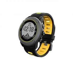 SoonCat GPS All Black Military Running Smart Watch