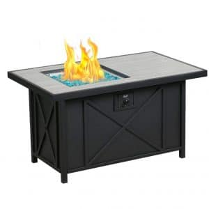 BALI OUTDOORS 42 Inches 50,000 BTUs Propane Gas Fire Pit Table