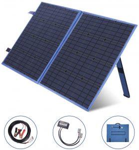 M MEGSUN Solar Charger 100W Portable Solar Panel