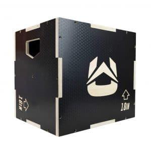 Ultra Fitness Gear 3-in-1 Anti-Slip Plyometric Box for Jump
