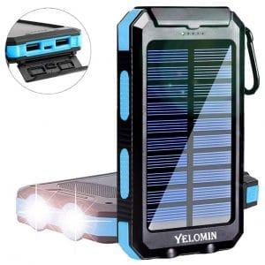 YELOMIN 20000mAh Solar Power Bank