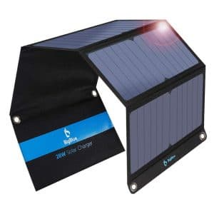 BigBlue 3 USB Ports 28W solar Foldable Panel